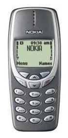 Celular Nokia 3320 Tdma Sem Chip Para Coleção - Não Funciona