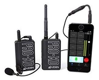 Microfone De Lapela Sem Fio - Azden Xd-pro Wireless