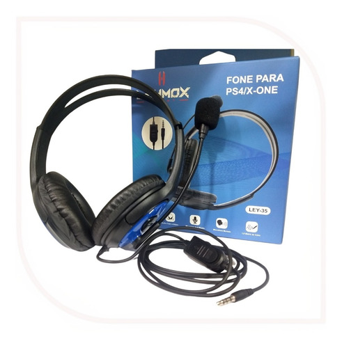 Headset Gamer Fone De Ouvido Pc Notebook Ps4 Ps5 Xbox One
