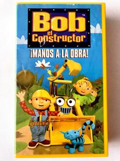 Bob El Constructor Vhs Manos A La Obra Seminuevo Cassette