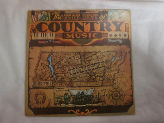 Lp The Very Best Of Country Music - Disco De Vinil Seminovo