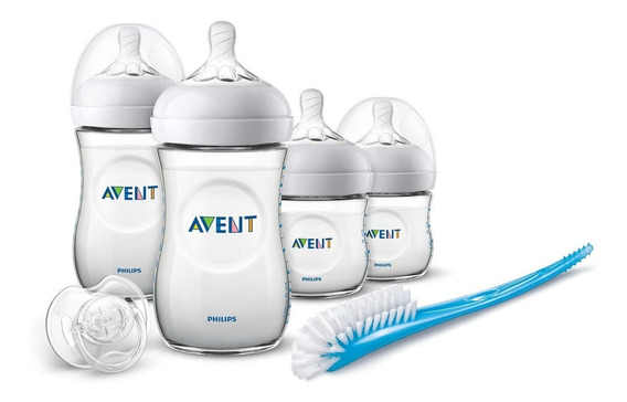 Kit Mamadeira Philips Avent Pétala Anti-colica Transparente