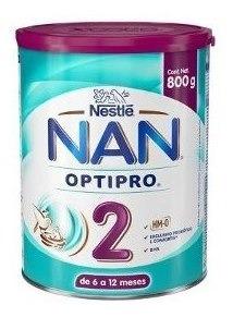 Nan 2 Optipro Formula Infantil De 720 Gr