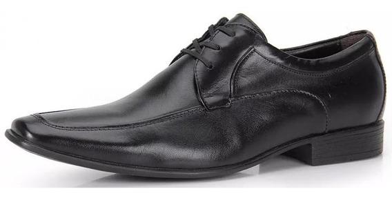 Zapato De Cuero Democrata Hombre Triton 083101 Cuotas