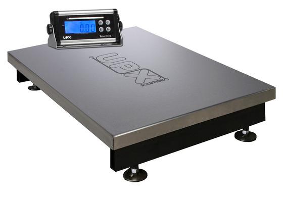 Balança Eletronica Inox 300kg X 50/100g Inmetro Bateria