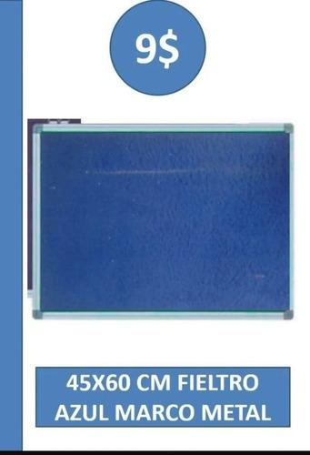 Cartelera De Corcho Con Marco De Aluminio