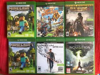 Lote Juegos Xbox One Físicos - Usados
