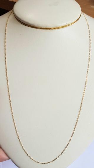 Corrente Cartier Em Ouro 18k 51 Cm 1,30 Gramas