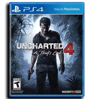 Uncharted 4 Ps4 A Thief
