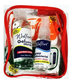 Kit Desinfectante Personal Walfort (tipo Lysol)