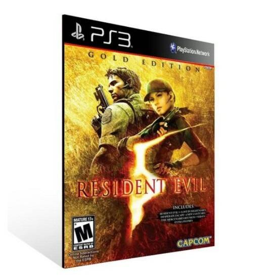 Resident Evil 5 Re5 Ps3 Comprar