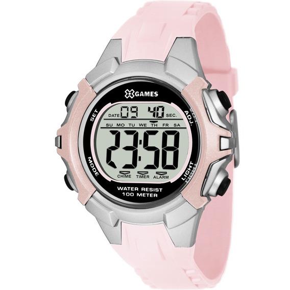 Relógio X-games Feminino Original Garantia Nota Xfppd053bxrx