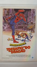 Cartazete Original Homem Aranha O Desafio Do Dragão 1980