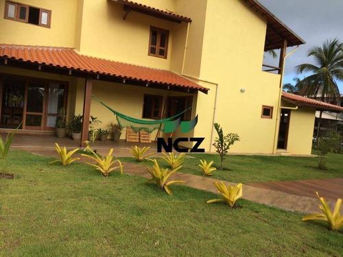 Imagem 1 de 28 de Casa Com 5 Dormitórios À Venda, 350 M² Por R$ 2.520.000,00 - Serra Grande - Uruçuca/ba - Ca3405