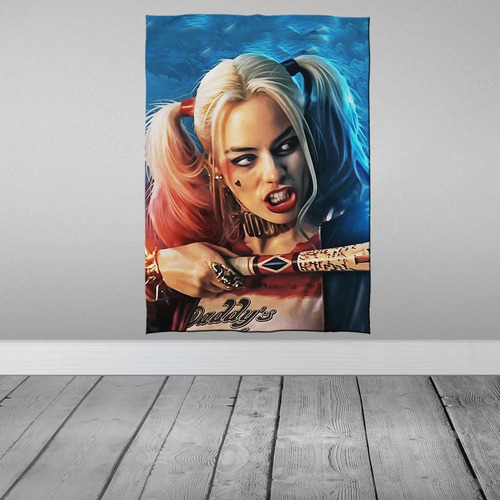 Stompy Tecido Decorativo Decoração Arlequina Harley Quinn