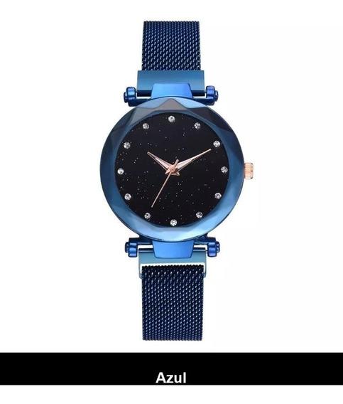 Relógio De Pulso Feminino Tephea -linda Pulseira De Imã