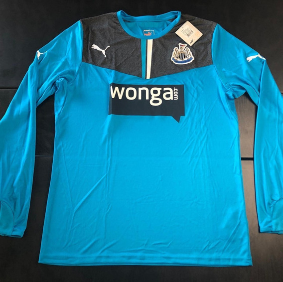 Camisa Newcastle 2013-2014 Goleiro Manga Longa Modelo Jogado