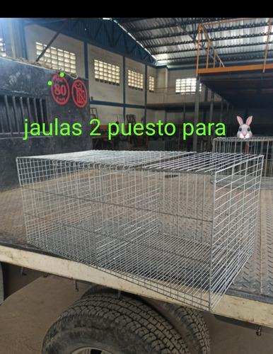 Imagen 1 de 5 de Casas Para Conejos 2 Puesto