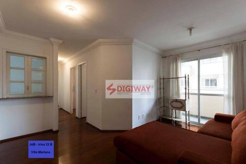 Imagem 1 de 28 de Apartamento, 63 M² - Venda Por R$ 695.000,00 Ou Aluguel Por R$ 3.000,00/mês - Vila Mariana - São Paulo/sp - Ap2090