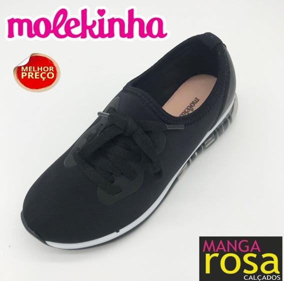 Tênis Casual Infantil Feminino Molekinha 2521102