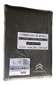Manual Instrucoes Proprietario Citroen Jumper Lbrcman046 +
