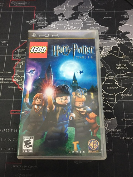 Lego Harry Potter Years 1-4 - Mídia Física - Psp