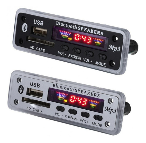 Placa Decodificador Usb Caixa Ativa Mp3 Fm Aux Bluetooth 4.0