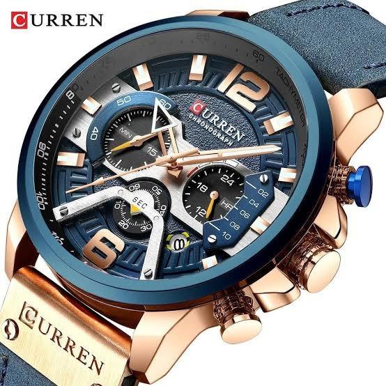 Relógio Curren Masculino Azul