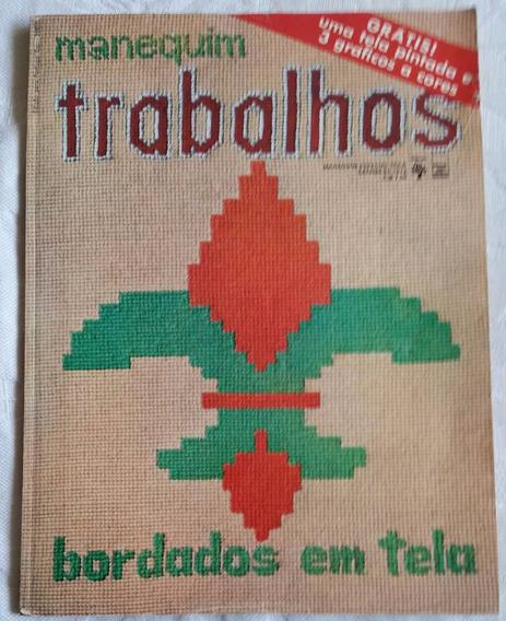 Revista Manequim Trabalhos Nº153-a - Setembro 1972- Bordados