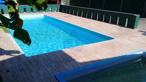 Imagem 1 de 9 de Cod:1124 -casa 6 Dorms, Praia Da Lagoinha, Ubatuba - R$ 980 Mil - V1124