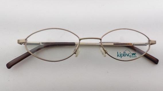 Armação Receituário Metal Infanto Juvenil Kipling 1804ov-í