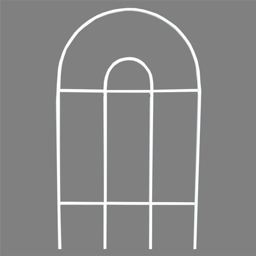 Cerca Grade De Proteção P/ Jardim - Cor Branco (1 Unidade)