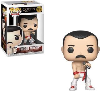 Funko Pop Queen Freddie Mercury Diamind Glitter Exclusive