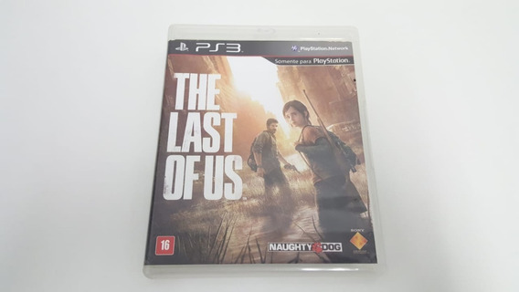 Jogo The Last Of Us - Ps3 - Original