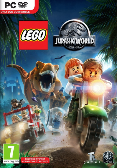 Lego Jurassic World Br Pc Midia Fisica