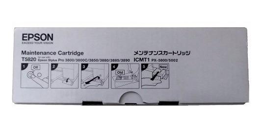 Tanque De Manutenção Epson T5820 Stylus Pro 3800 3800 3850