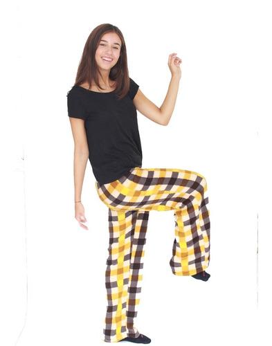Pack X 2 Pantalón Pijamas Corderito De Mujer Super Suave