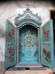 Oratório Antigo Reliquia Seculo 17/18 Sacra Arte Barroca