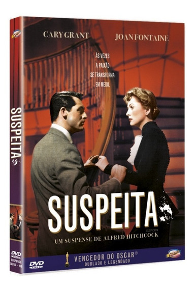 Dvd Suspeita De Alfred Hitchcock Classicline - Bonellihq C19