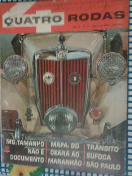 Revista Quatro Rodas Março 1964
