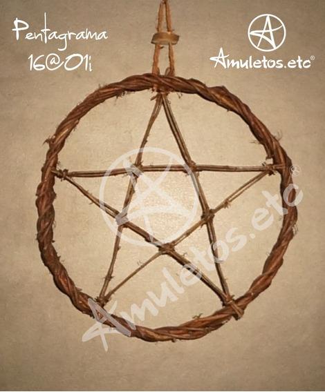 Pentagrama Em Cipó Wicca 16@01i