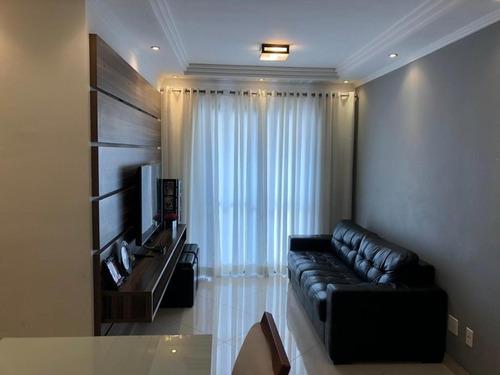Apartamento Com 3 Dormitórios À Venda, 65 M² - Baeta Neves - São Bernardo Do Campo/sp - Ap63651