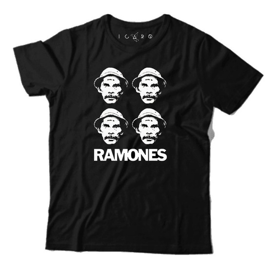 Remera Ramones Don Ramón 100% Algodon Showroom Palermo
