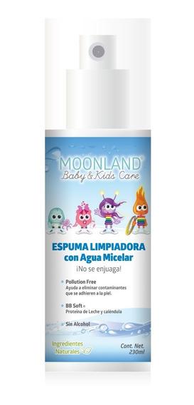 Moonland Espuma Limpiadora Para Bebés Con Agua Micelar 230ml