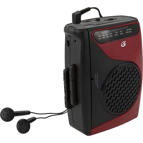 Reproductor De Cassette Gpx, Con Radio Am-fm