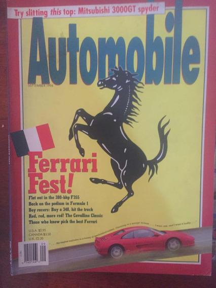 Revistas Automobile (importadas Anos 90) Ferrari/mustang/etc