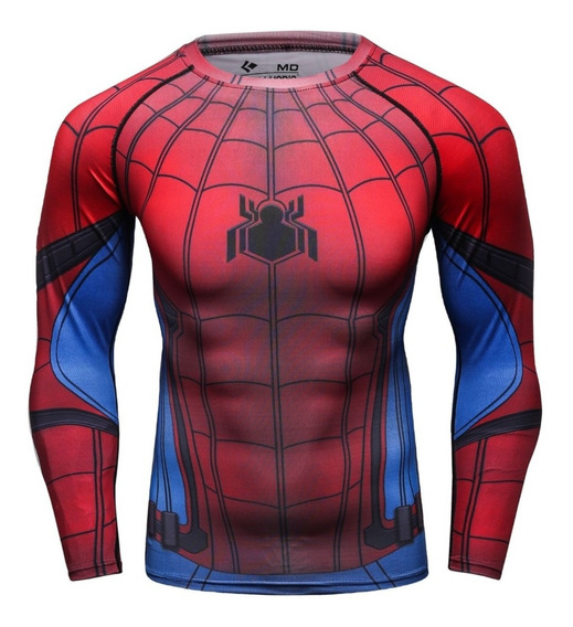 Playera Spider Man Spiderman Marvel Avengers Homecoming