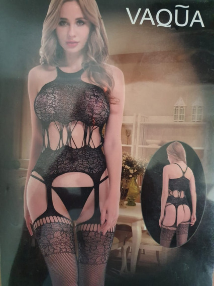 Bodystocking Fishnet Sexy Lenceria Erotica, Sexy
