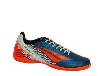 Tenis Penalty Futsal Adulto Storm - 124104 Azul