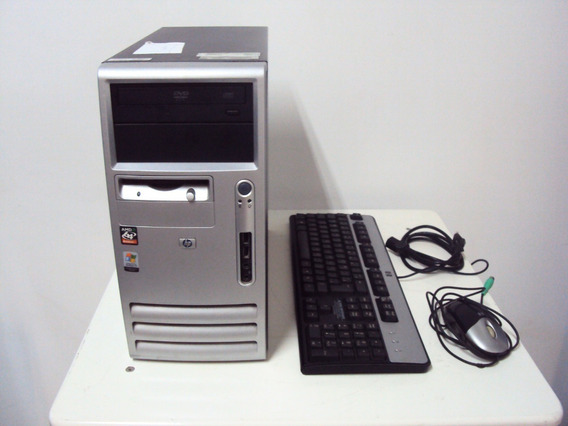 Computador Hp Compaq Dx5150mt Amd 64 Athlon - 80gb - 1gb Ram